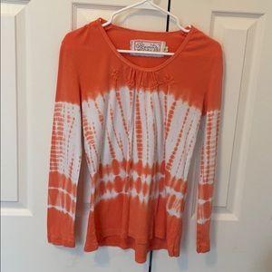 Aventura Medium organic tie dye long sleeve shirt